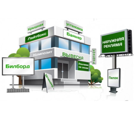 Рекламные конструкции - виды, производство, расчет