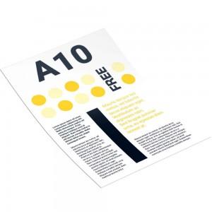 Рекламная листовка А10