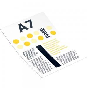 Рекламная листовка А7