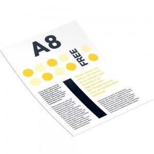Рекламная листовка А8