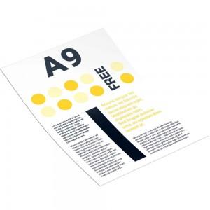 Рекламная листовка А9