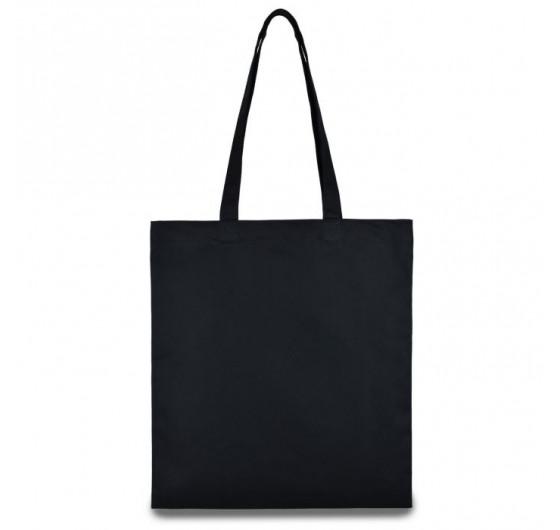 Эко сумка чёрная бязь