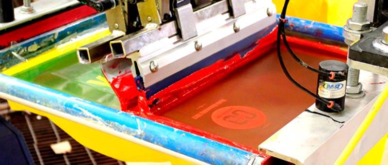 Что такое трафаретная печать или шелкография
